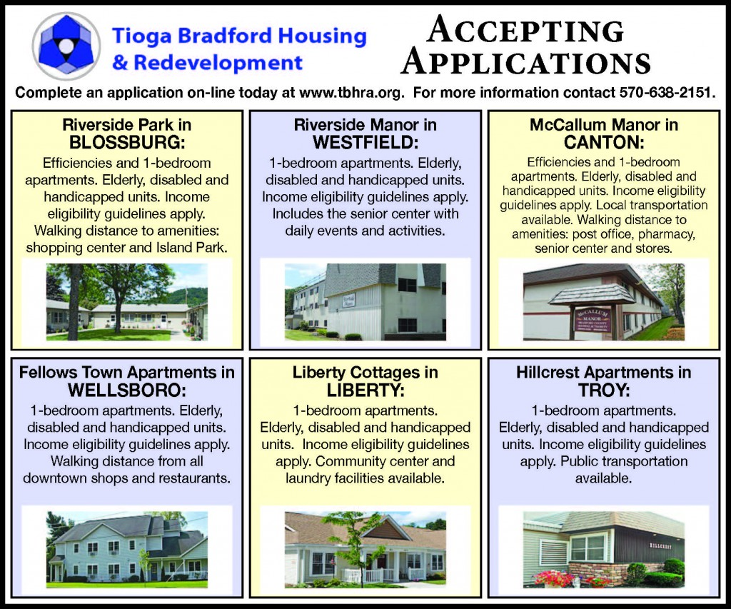 TIOGA BRADFORD COUNTY HOUSING